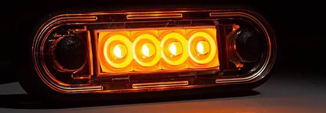Markeringslys E9 EMC Bøyler,Karosseri Gult