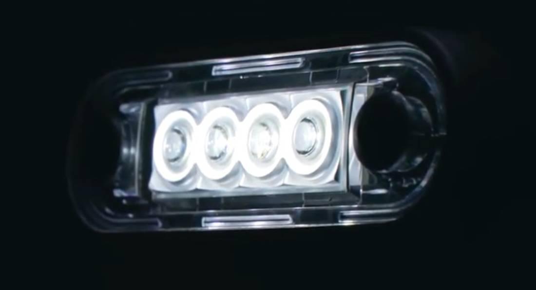 Posisjonslys E73 H LED hvit