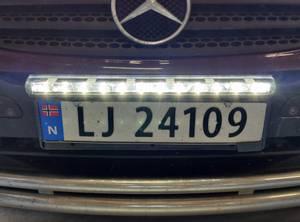 Bilde av Delling E46 54 cm Ledbar med DRL Black Edition
