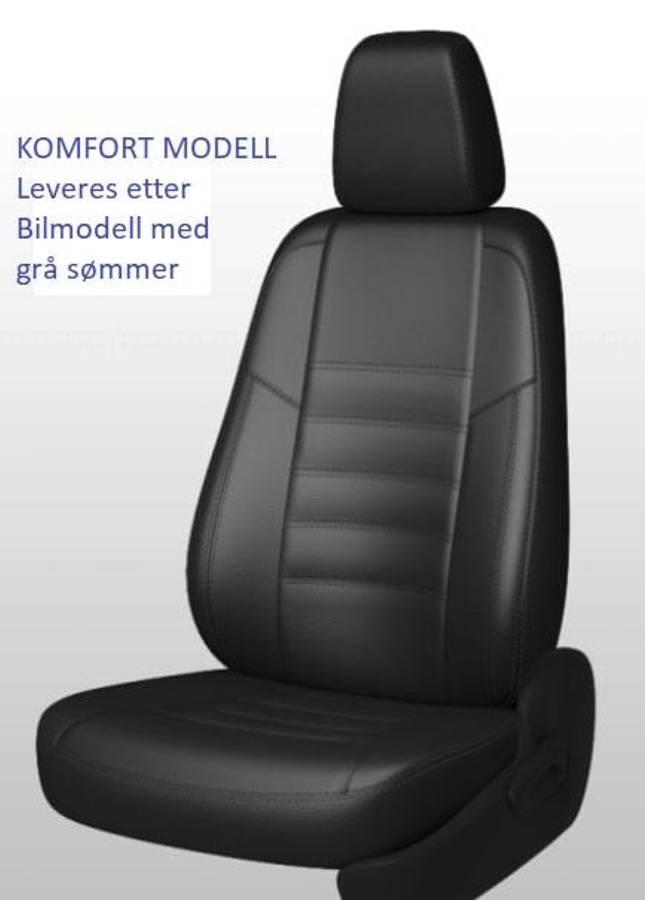 Peugeot Expert 2016-> Setetrekk. 1+2